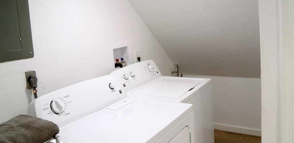 washer dryer uri townhouses